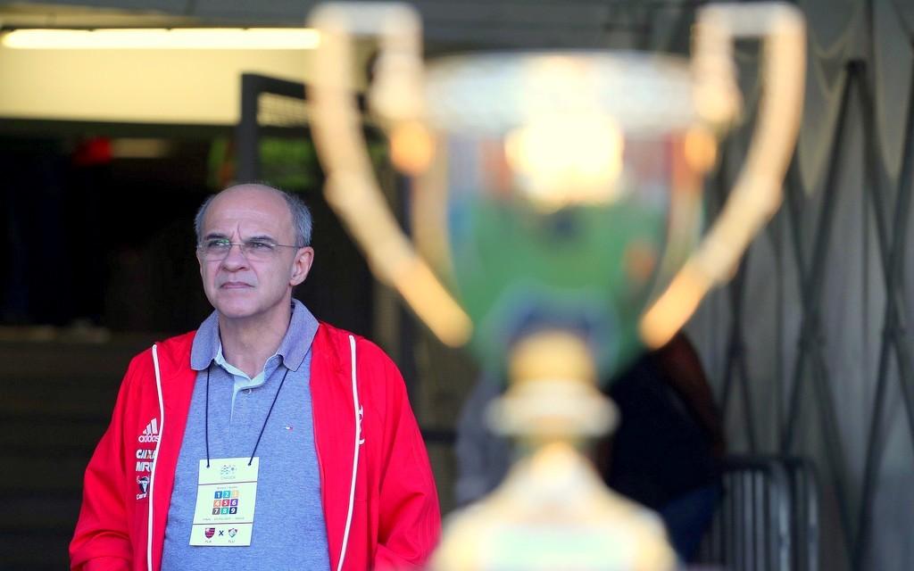 O presidente Eduardo Bandeira de Mello. Foto: Gilvan de Souza/Divulgação