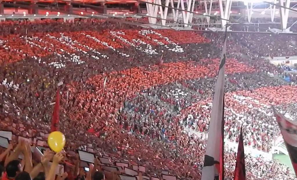 Vote na sua canção favorita para o Fla no Maracanã. Foto: Divulgação