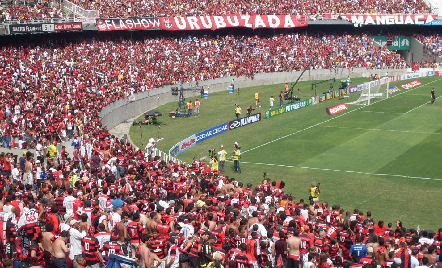 Flamengo no Maracana Foto divulgacao