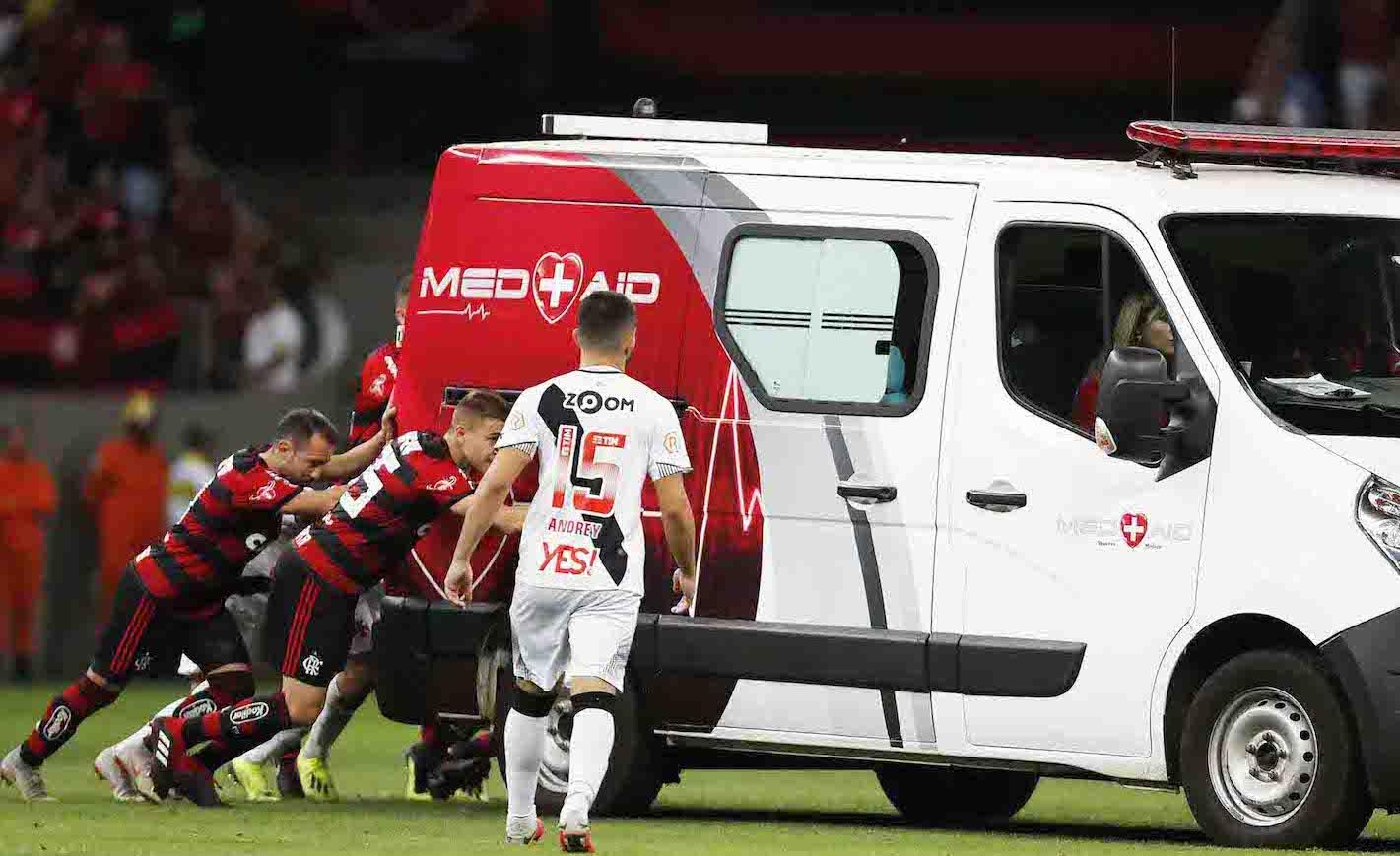 Brasília (DF) - 15/09/2018 - Vasco RJ  X Flamengo - RJ