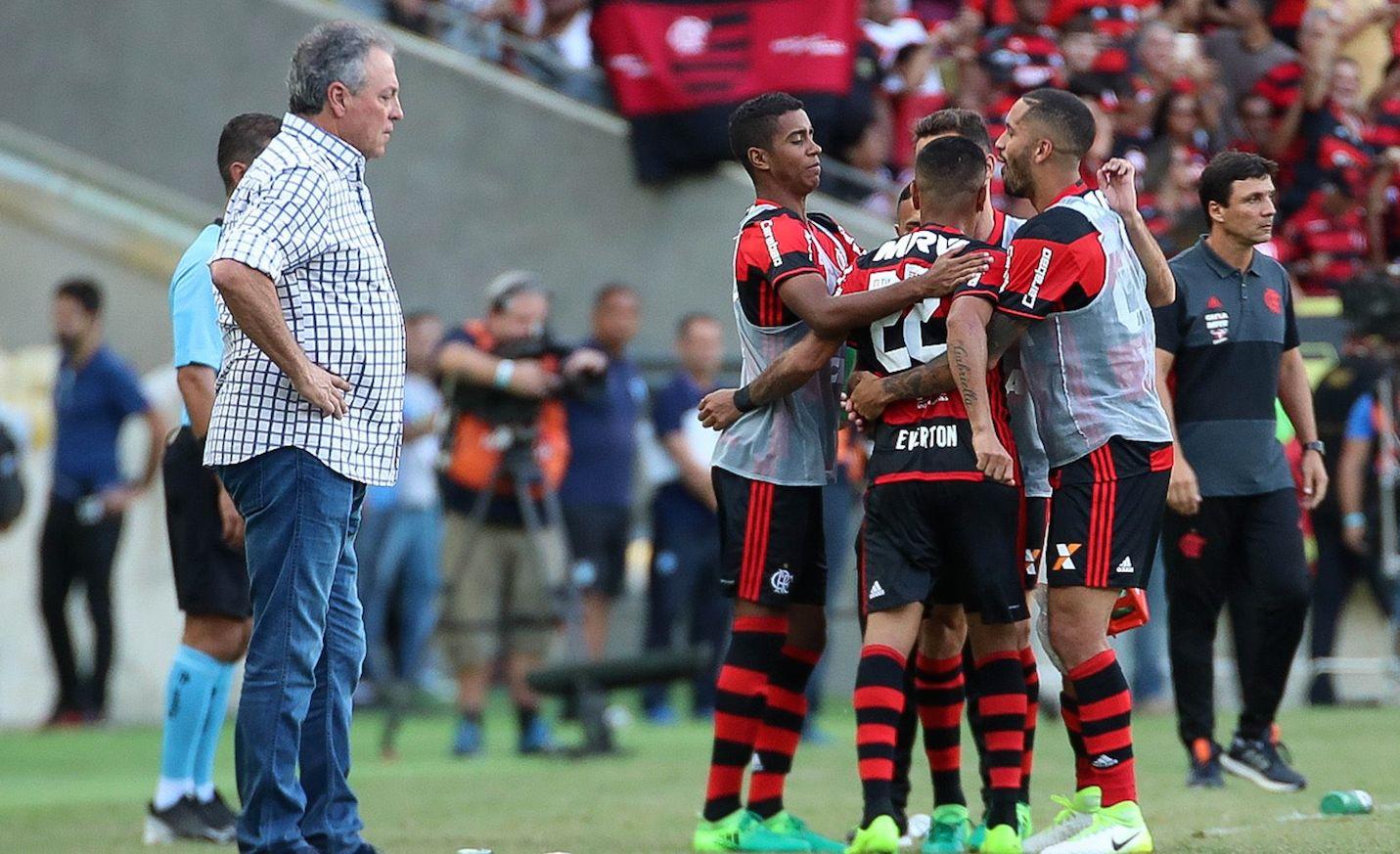 Abel Braga e o Flamengo. Autor: desconhecido