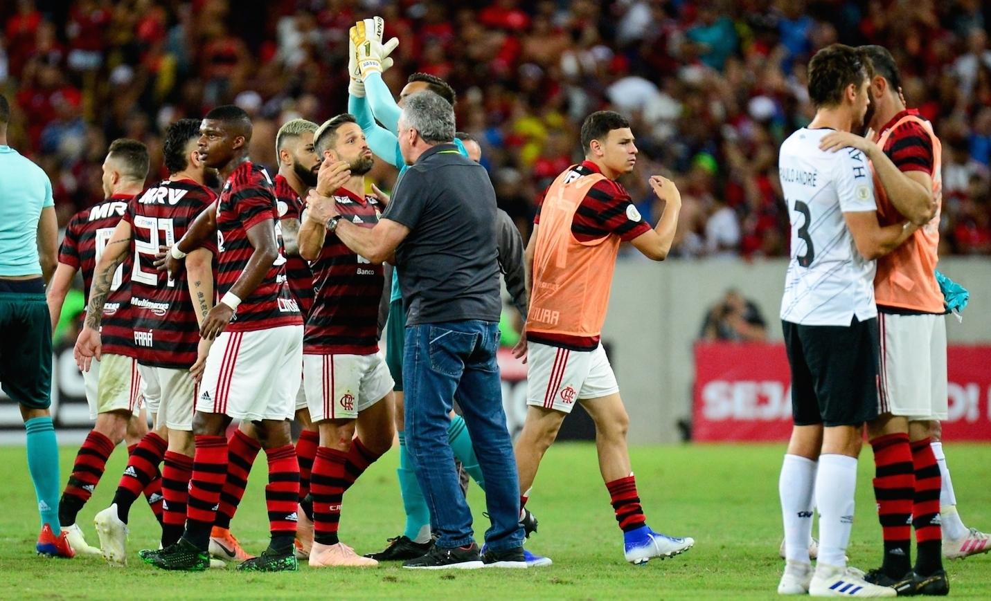 Flamengo x Athletico Foto Alexandre Vidal