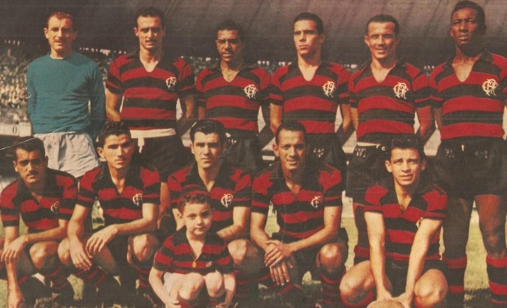 O Manto Sagrado do Flamengo em 1956 Foto Arquivos Flamengo