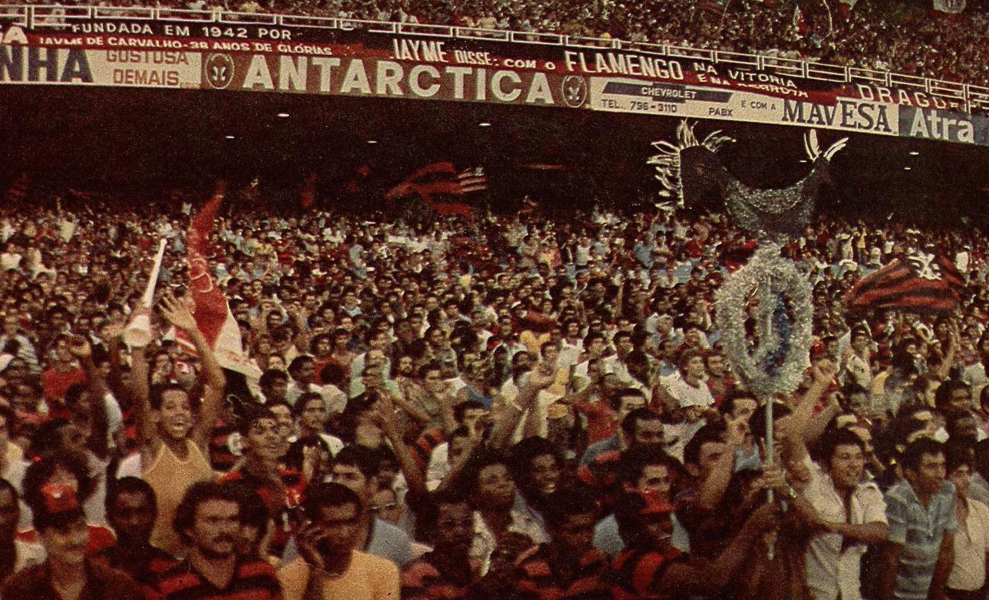 Geral Maracana Brasileiro 1980