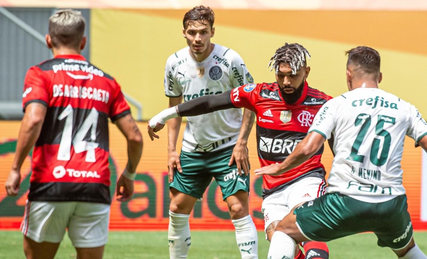 Fla Palmeiras Gabigol